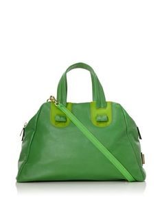 ef70790cd0 Meredith Wendell Women s Slouchy Fishbowl Small Satchel (Green) Fishbowl