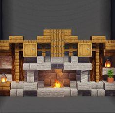 Minecraft Bauwerke, Casa Medieval Minecraft, Minecraft House Plans, Cute Minecraft Houses, Minecraft House Designs, Amazing Minecraft, Minecraft Tutorial, Minecraft Blueprints, Minecraft Creations