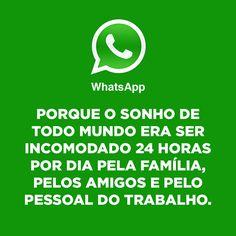 redes sociais e aplicativos sinceros WhatsApp