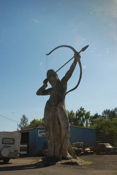 The Great Statues of Auburn, California  #ridecolorfully www.sierrabrokers.com