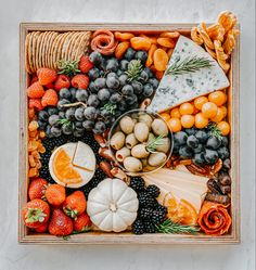 Which one is your favorite, white or orange pumpkin? We are so in love with both and we love adding the into our cheese boards and platters throughout entire Fall and Thanksgiving season Grazing Tables, Fruit Displays, Cheese Boards, Which One Are You, Appetizers, Thanksgiving, Pumpkin, Make It Yourself, Canning