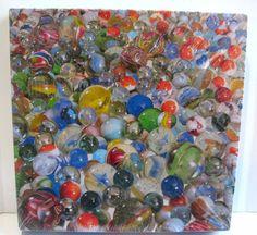 Springbok Jigsaw Puzzle Marbles! New Sealed 500 Pcs 20 X 20 PZL2436 Hallmark #Springbok