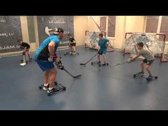 Off-Ice Hockey training: Stickhandling workout. - YouTube