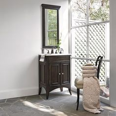 VERONA SINK CHEST - Ambella Home  #Vanity #Mirror #Furniture #Bathroom #Sinkchest