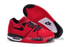 """pretty nice 29d47 4b27b Nike Air Flight  89 """"Red Suede"""" Gym Red Black-White On Sale Authentic  Wkr4r, Price   94.00 - Nike Rift Shoes"""