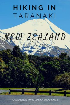 The Travel Natural   Hiking in Taranaki National Park - New Zealand. Travel off the beaten path