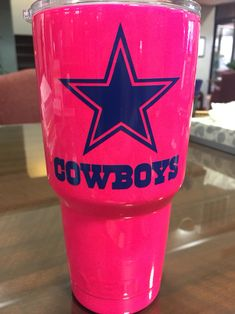 3d3c0341eae83 Dallas Cowboys yeti #dc4l #cowboys Dallas Cowboys Yeti Cup, Dallas Cowboys  Crafts,