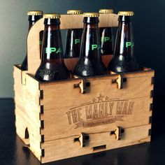 Six Pack Puzzle Beer Carrier » Manly Man Co.