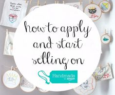 Here are the basics of applying for and selling on Handmade at Amazon, plus tips and tricks from all my research!