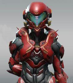 Halo 5 - Vale by Kyle Hefley on ArtStation. Warrior Concept Art, Robot Concept Art, Armor Concept, Character Concept, Character Art, Character Design, Odst Halo, Halo Armor, Halo Spartan Armor