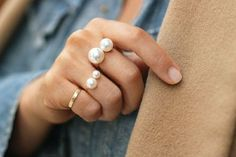 pearls #ring #jewel