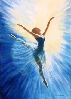 Resultado de imagen para ballerina painting
