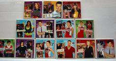 Glee magnets by zhuzhusworld on Etsy, $18.00