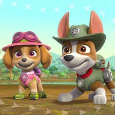 Join Tracker, Rubble, Marshall, and the pups in the jungle as they help Mayor Goodway and Chickaletta find a new home for the mayor's plant in this video. Paw Patrol Cartoon, Zuma Paw Patrol, Paw Patrol Pups, Paw Patrol Party, Paw Patrol Birthday, Paw Patrol Videos, Paw Patrol Full Episodes, Paw Patrol Cake Toppers, Frozen Sisters