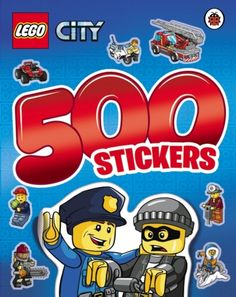 Lego City: 500 Stickers Activity Book (9780241198087) | hive.co.uk