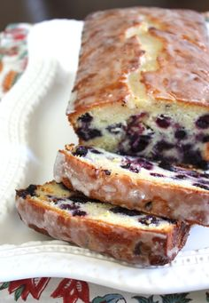 Lemon Blueberry Cake. Luckily someone else took a picture, because mine looks the same but is a bit too delicate to move.  Want me to save you a piece?