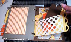 Good Golly, Ms. Molly!: Baby Mini Album with CTMH Cricut Artbooking Cartridge