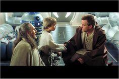 Star Wars : Episode I - La Menace fantôme / Liam Neeson, Jake Lloyd, Ewan McGregor / © Twentieth Century Fox France