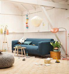 Ikarus Deutschland | Blauessofa | Modernes Design | Eklektisches Design Siehe auch: https://www.brabbu.com/en/inspiration-and-ideas/