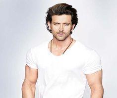 Buy HrithikRoshan sexy white shirt @ http://www.follo.in/starshop/products/hrithik-roshan/men-white-t-shirt/481776 ONLY Follostarshop Bollywoodkafashion