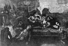 Victorian opium den. Image from http://wellcomecollection.wordpress.com/2011/04/28/drugs-in-victorian-britain/