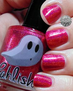 Pahlish Caramel Apple Orchard from the Happy Holo-ween Collection
