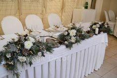 украшение свадебного стола зимой - Поиск в Google