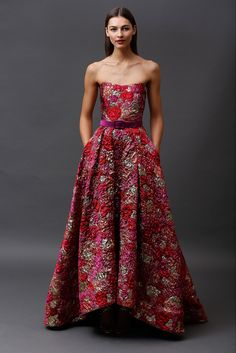 Badgley Mischka Pre-Fall 2015 Fashion Show