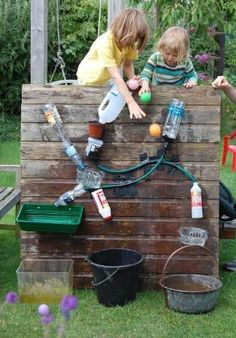 This will be a great summer-time project on the back deck -- maybe all along the railing? We can add to it over time….