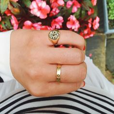 Found the most perfect, classic gold signet ring… Finally!  @liketoknow.it www.liketk.it/1ydBv #liketkit