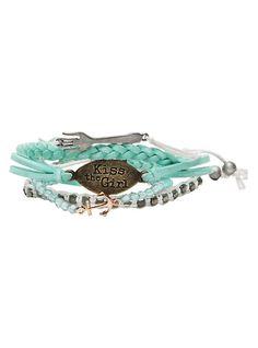 Disney The Little Mermaid Kiss The Girl Bracelet 5 Pack, , hi-res