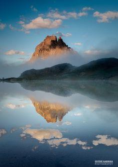 Pic du Midi dOssau et lac dAyous, Pyrénées Atlantiques Plus