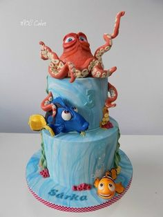 Hľadá sa Dory, torty pre deti, cakes for kids, Autorka: Moli81, tortyodmamy.sk