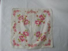 Vintage Cotton Floral Handkerchief Collection The by ElsieSaidSo