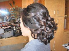 Wedding, Hair, Chignon, Dark, Asian, Wavy, Natural, Up-do - Project Wedding