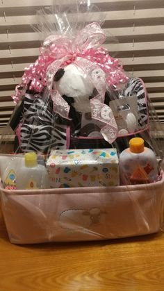 Everythings sweet gift baskets convention gift baskets baby gift basket for our newest grandbaby negle Image collections