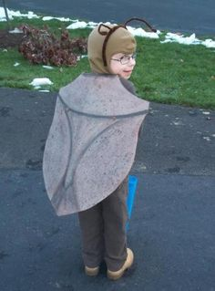 Stink Bug costume for my son Logan this year.
