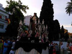 Santa Teresa,  Procesión del16 de julio