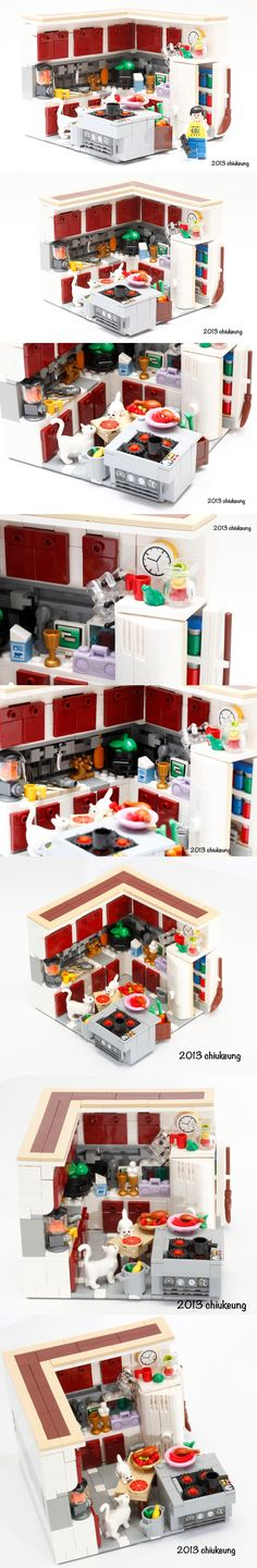#LEGO #kitchen