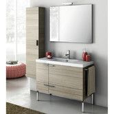 """Found it at AllModern - New Space 39"""" Single Bathroom Vanity Set with Mirror"""