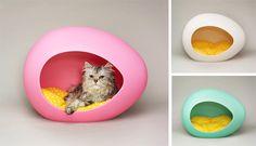 pEi Pod Pet Egg House Modern Pet Bed