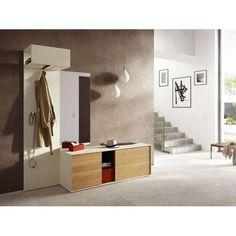 Garderobe vorzimmer garderoben linea natura eiche wohnung wohnung by andreas metzler - Linea natura garderobe ...