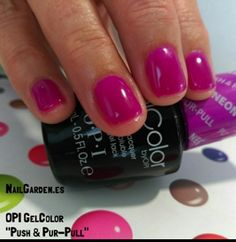 OPI GelColor - Push & Pur-Pull NailGarden.es