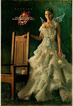 Jenifer Lawrence as Katniss Everdeen in 'The Hunger Games: Catching Fire' 2013