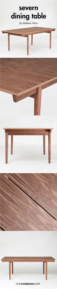 Buy the Severn Extending Dining Table Walnut by Matthew Hilton and more online today at The Conran Shop, the home of classic and contemporary design Extendable Dining Table, Dining Bench, Walnut Veneer, Elegant Table, Outdoor Furniture, Outdoor Decor, Contemporary Design, Modern, Inspiration