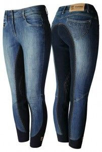 Tredstep Ladies Denim Full Seat Breeches | HorseLoverZ