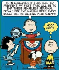 Let's Elect Linus for President!