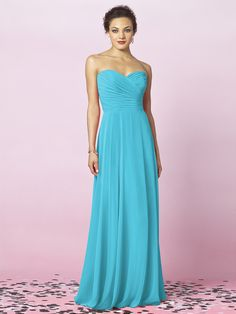 Pretty and simple bridesmaids dresses.. in soo many colors!! After Six Bridesmaids Style 6639