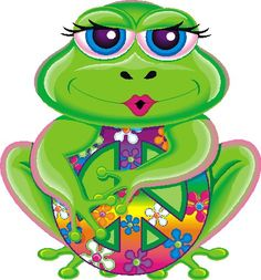 Hippies Clipart esl 8 - 474 X 510 Hippie Peace, Happy Hippie, Hippie Art, Hippie Style, Funny Frogs, Cute Frogs, Peace Love Happiness, Peace And Love, Frog Wallpaper