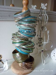 Bracelet holder | Clever eh? See my blog for the link to my … | Flickr